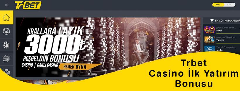Trbet Casino Bonusu